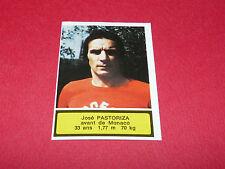 138 J. PASTORIZA AS MONACO LOUIS II AGEDUCATIFS FOOTBALL 1975-76 PANINI 75-1976