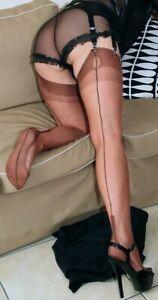 Eleganti-Fully-Fashioned-Stockings-COPPER-HAVANA-imperfects-from-NYLONZ