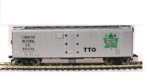 HO SCALE TRAINS MODEL POWER CANADIAN NATIONAL RAILWAY REEFER CAR