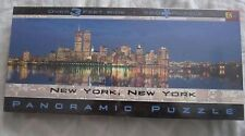 Buffalo Games Panoramic Puzzle Twin Towers New York City 765 PCS year 2000