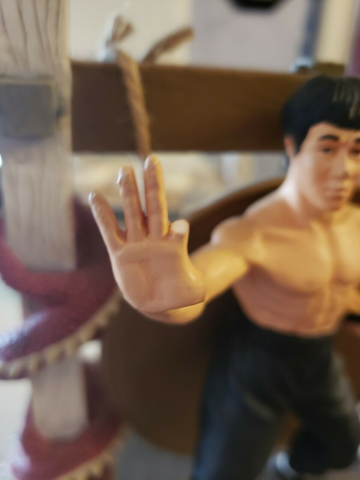 Bruce Lee Diorama Statue 161 Of 4000 9x12 9x12 9x12 654e23