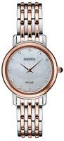 Seiko Women's Quartz Diamonds Two Tone Stainless Steel Watch