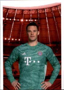Panini FC Bayern München 2019//20 Sticker 22 Manuel Neuer