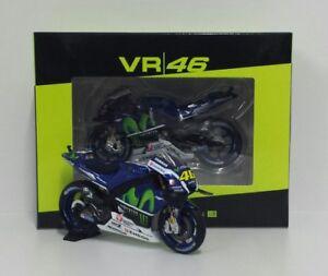 Minichamps Vr/46 Valentino Rossi 1/18 Modèle Yamaha M1 Movistar Motogp 2016
