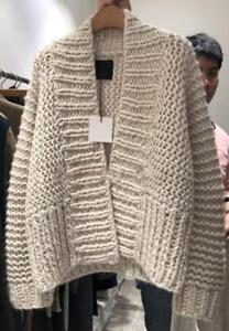 Womens-Lazy-Style-Chunky-Knitted-Loose-Oversize-Sweater-Cardigans-Outwear-Coat