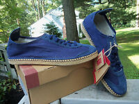 Onitsuka Tiger By Asics Mens Mexico 66 Espadrille Navy Blue Shoes Sizes