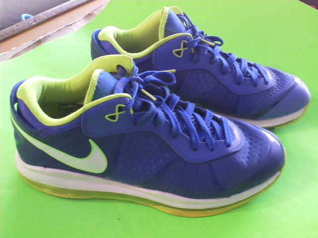 89cd4e53805a Nike Lebron 8 V2 Low Sprite Size 12 for sale online