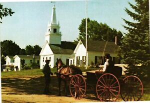 Vintage Postcard - The Historic Village Of Temple New Hampshire NH #2237
