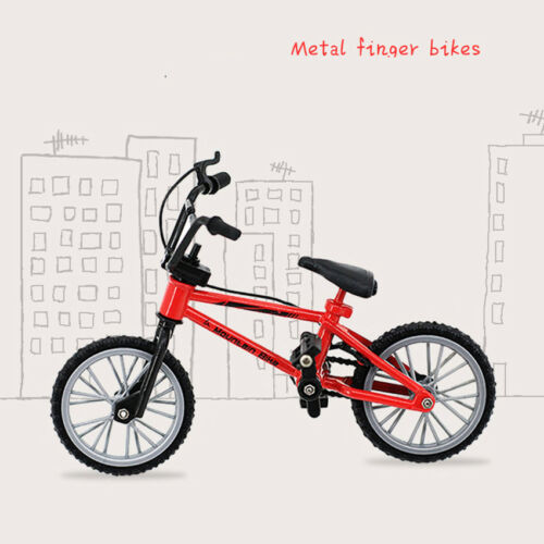 Kids Multi-Color Alloy Bicycle Model Toy Birthday Gift Art Craft Home Decor