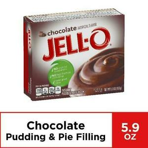 JELL- O Chocolate 5.9 oz ( Pack of 3 )