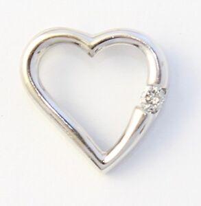 10k-White-Gold-Diamond-Heart-Charm-Necklace-Pendant