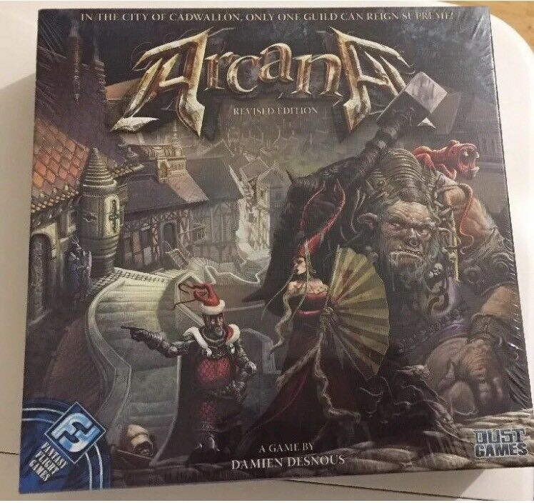 ARCANA (Revised Edition) Agame Agame Agame by Damien Desnous 0e41e9