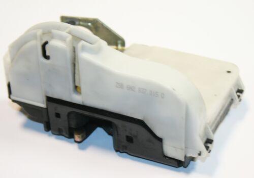 VW Polo 6N2 Door Lock Catch Mechanism Passengers Front Manual 6N2 837 015 D
