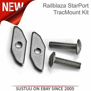 Railblaza-StarPort-TracMount-Kit-03-4104-11-Use-For-Fishing-Kayak-amp-Boats