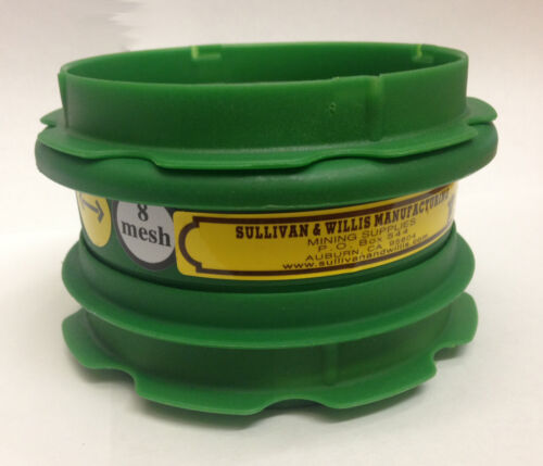 Classifier Sieve Mesh 4 6 10 12 14 16 18 50 100 Your Choice with 2 Locking Lid