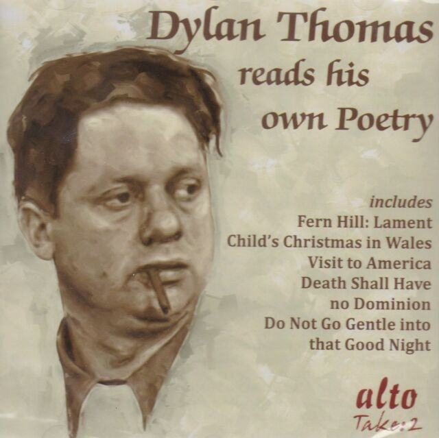 [BRAND NEW] CD: DYLAN THOMAS READS HIS OWN POETRY