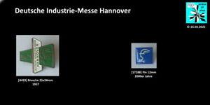 Deutsche Industrie-Messe Hannover Abzeichen AUSSUCHEN