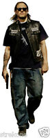 CHARLIE HUNNAM as JAX Sons Of Anarchy - Full Body Window Cling Sticker Decal NEW