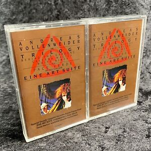 Andreas Vollenweider The Trilogy 2 Cassette Set Columbia 1980 C2T46974