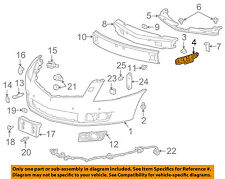 10-16 SRX Front Bumper Face Bar Outer Retainer Mounting Brace Bracket SET PAIR