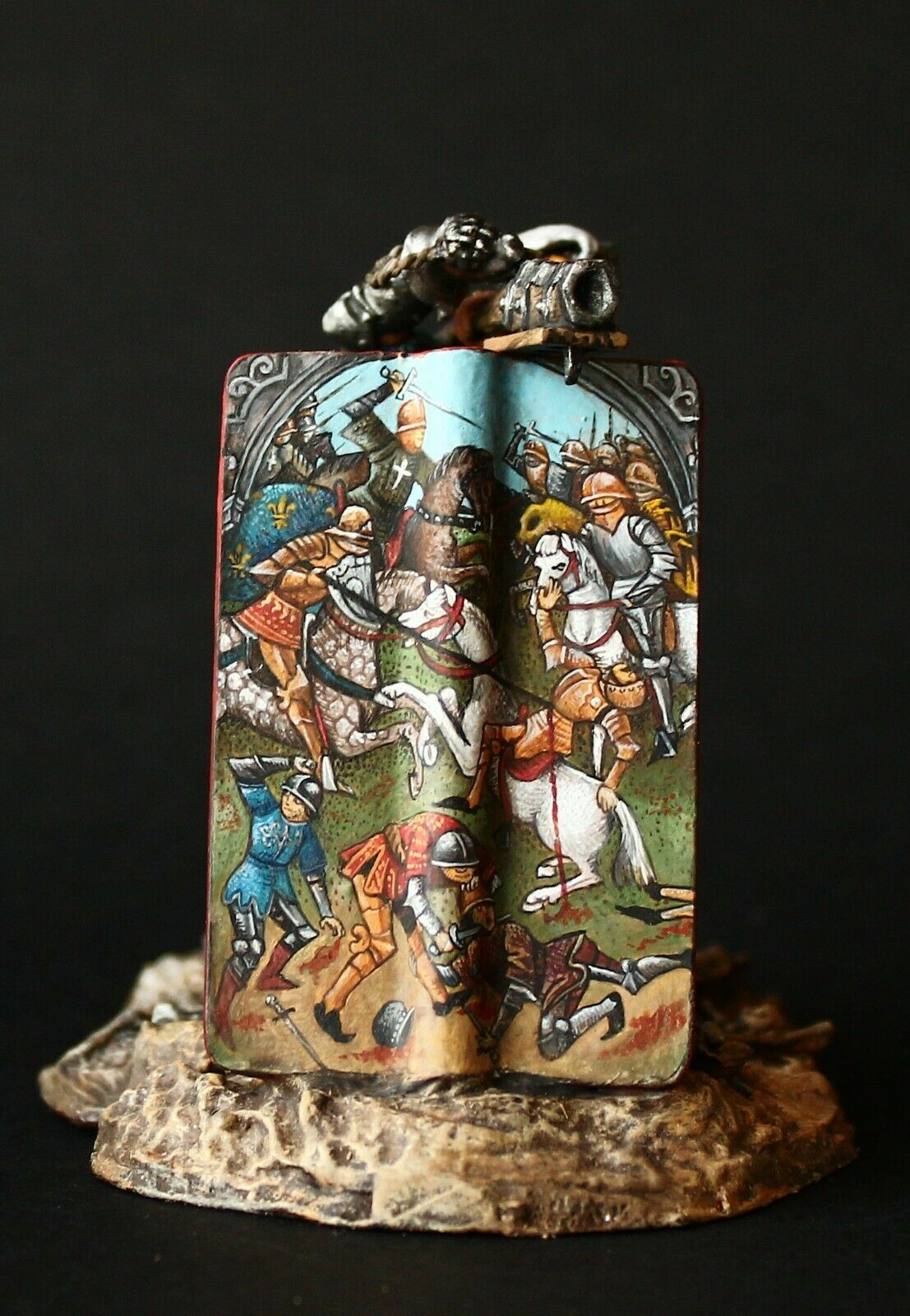 Tin soldier, Museum (TOP), Swiss Mercenary, Marignana, 54 mm, Renaissance