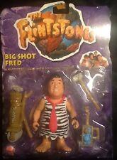 The Flintstones Movie Big Shot Fred Figures MOC Mattel 1993 John Goodman
