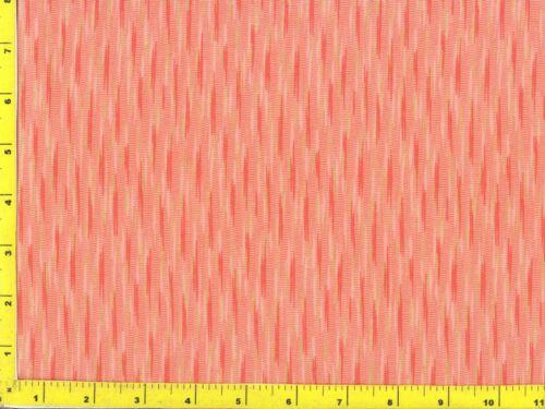 Orange /& Metallic Gold Streaks on Light Orange Quilting Fabric by Yard  #2181