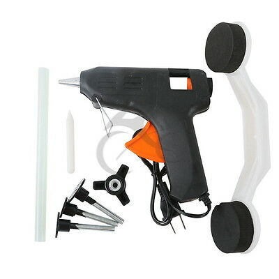 Hail Dint Dings Damage Repair Remover Puller Removal Tool Car Paintless Dent Kit