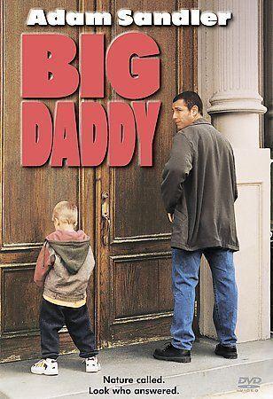 Big Daddy DVD, 1999 Comedy Adam Sandler - $3.52