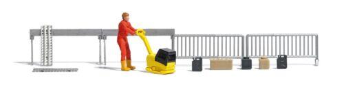 Busch HO 7804 Action-Set Rüttelplatte Fertigmodell #NEU in OVP#