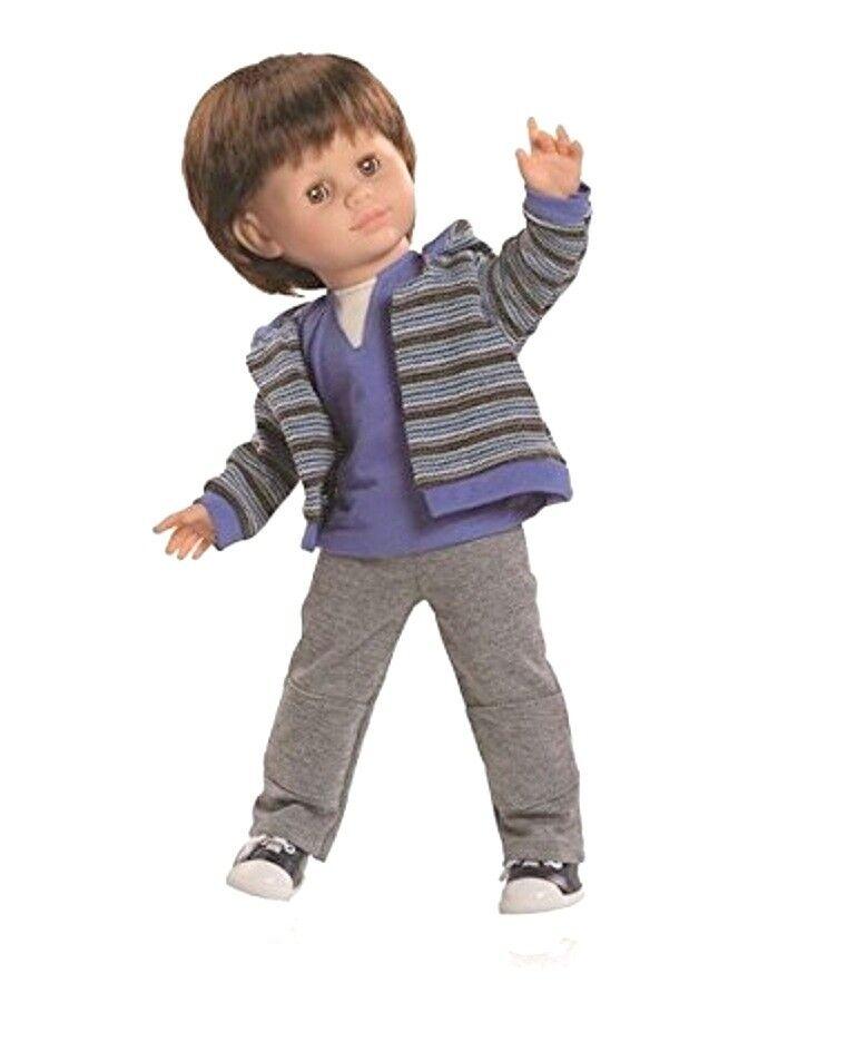 Artistas muñeca juego muñeca muñecas jóvenes unai el pelo castaño 47 cm paola Reina 6204