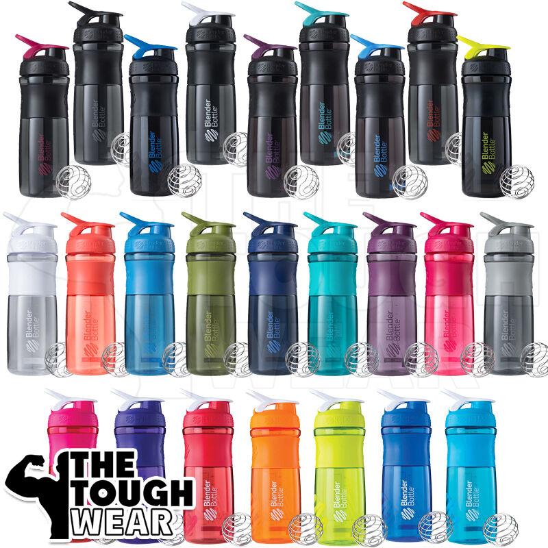 Water Bottle Blender: Blender Bottle SportMixer 28oz. Titan Grip Protein Shaker