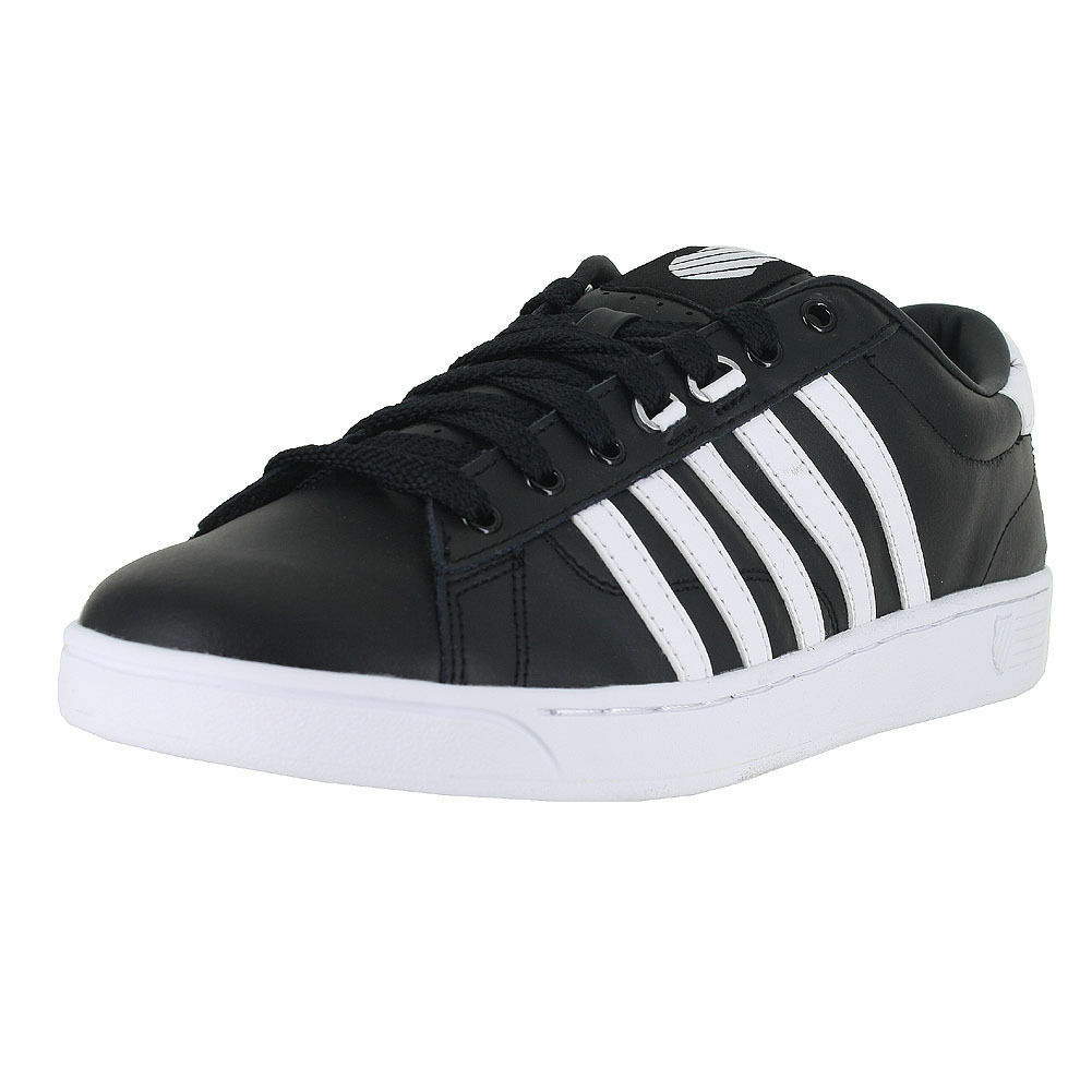 Gli scarpe uomini k-swiss hoke cmf scarpe Gli neri e bianchi 03615-002 autentico nuovo di zecca 887024