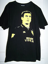 ERIC CANTONA T-shirt Mens medium 100% cotton