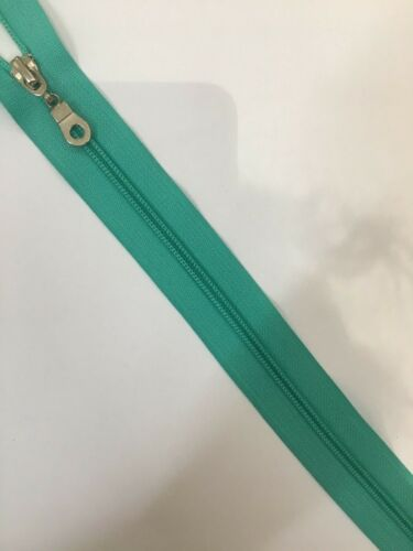 Chunky NYLON ZIP 10 CM TO 75  Nylon CLOSED  Ended Zip FREE POSTAGE