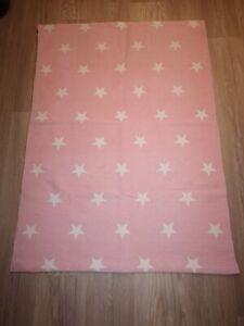 Details Zu Kinderzimmer Teppich Hm Home Rosa Sterne 90 X 130 Cm