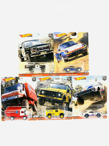 2020-Hot-Wheels-All-Terrain-Wild-Terrain-Set-of-5-Cars-Car-Culture-1-64-Diecast
