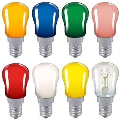 Pack of 5-15w Pygmy Light Lamp Bulb SES E14 Small Screw 28mm Salt Lamp Oven
