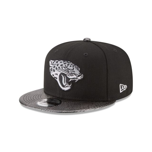 202c79b639a136 Jacksonville Jaguars Hat Men's Snapback 9FIFTY Snake Skin Sleek New Era NFL