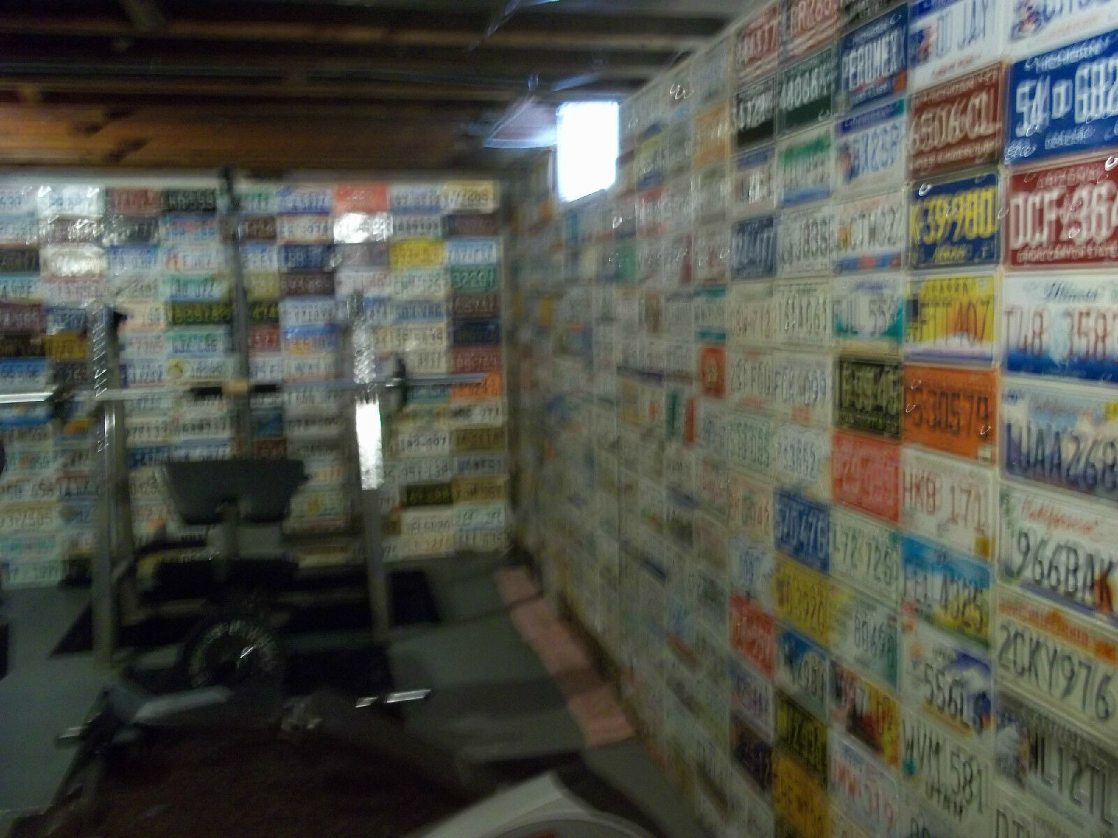 A Set of 1,280 License Plates. USA, Mexico,Central South America, and Europe