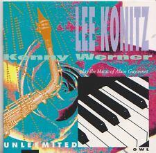 LEE KONITZ  KENNY WERNER  CD  UNLEEMITED  PLAY THE MUSIC OF ALAIN GUYONNET