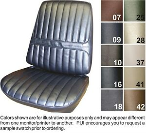 Details about 1971-72 Oldsmobile Cutlass Supreme Front Seat Covers - PUI