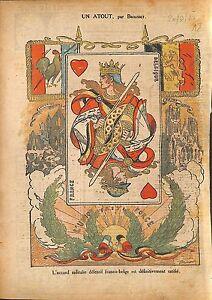 """Accord Militaire Défensif Franco-Belge France Belgique Ratifié 1920 ILLUSTRATION - France - Commentaires du vendeur : """"OCCASION"""" - France"""