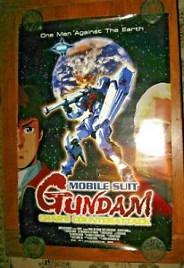 Mobile Suit Gundam Char S Counterattack Large 27x40 Poster Free Shipping Ebay