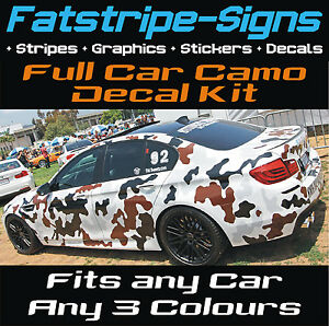 FULL-CAR-CAMO-KIT-GRAPHICS-STICKERS-DECALS-CAMOUFLAGE-BONNET-ROOF-VINYL-WRAP-ST