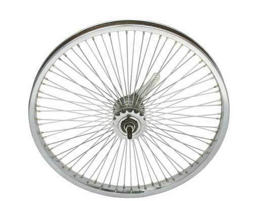 LOW RIDER LOWRIDER BIKE BICYCLE 20  72 Spoke REAR Coaster Wheel 14G Chrome
