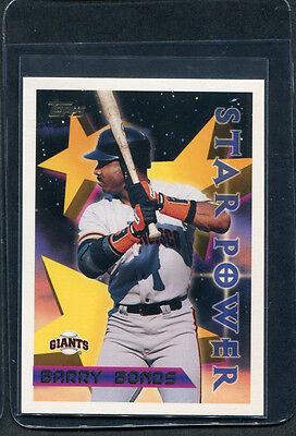 Baseball Cards 1996 Topps 10 Barry Bonds STP Misc.