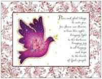 20 Christmas Holiday Greeting Dove Religious Post Cards Printed Us Or Canada