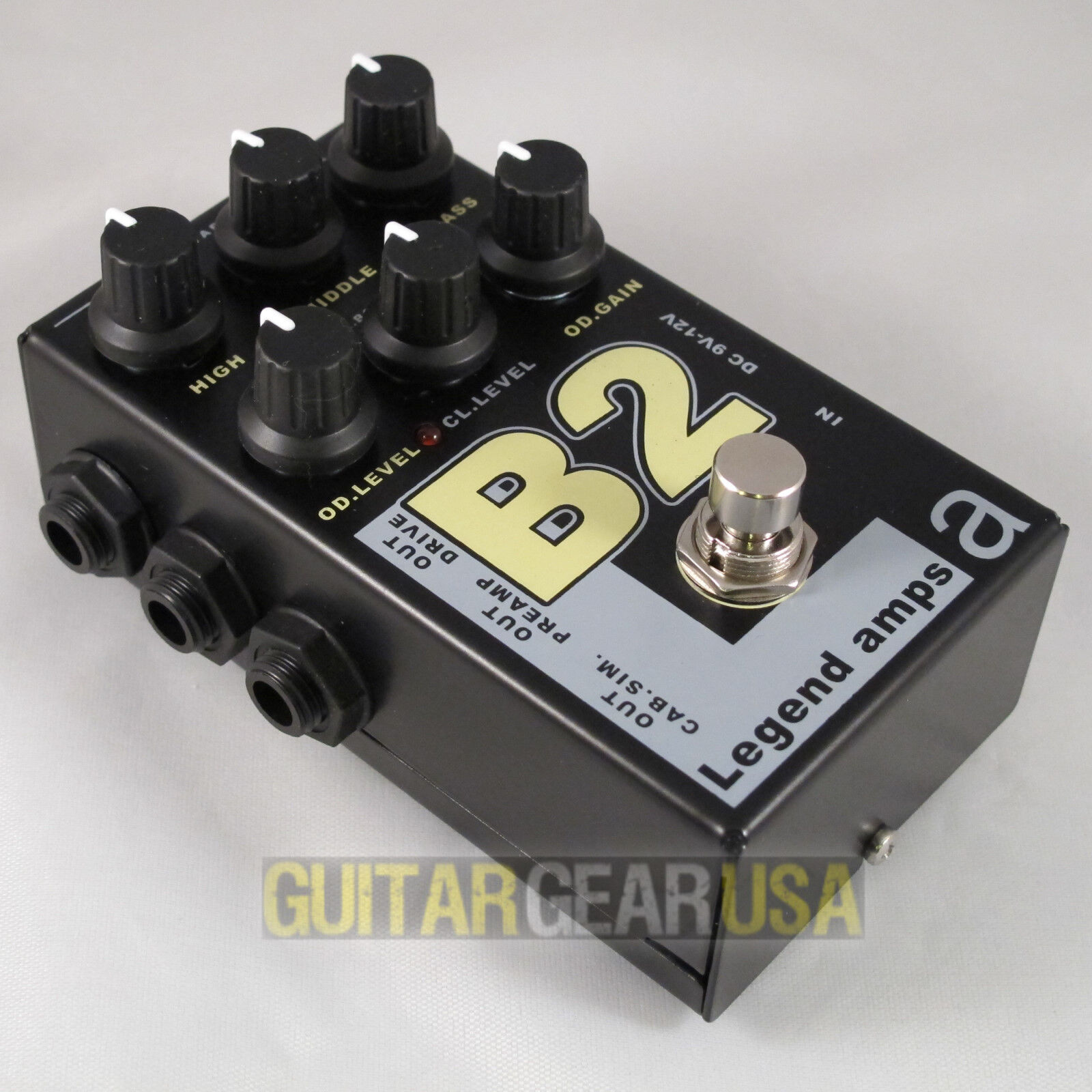 AMT Electronics Guitar Preamp B-2 (Legend Amp Series 2) emulates Bogner Sharp