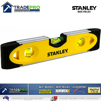 "Stanley Level Genuine Torpedo 230mm 9"" PRO Magnetic Heavy Duty Shock Proof"